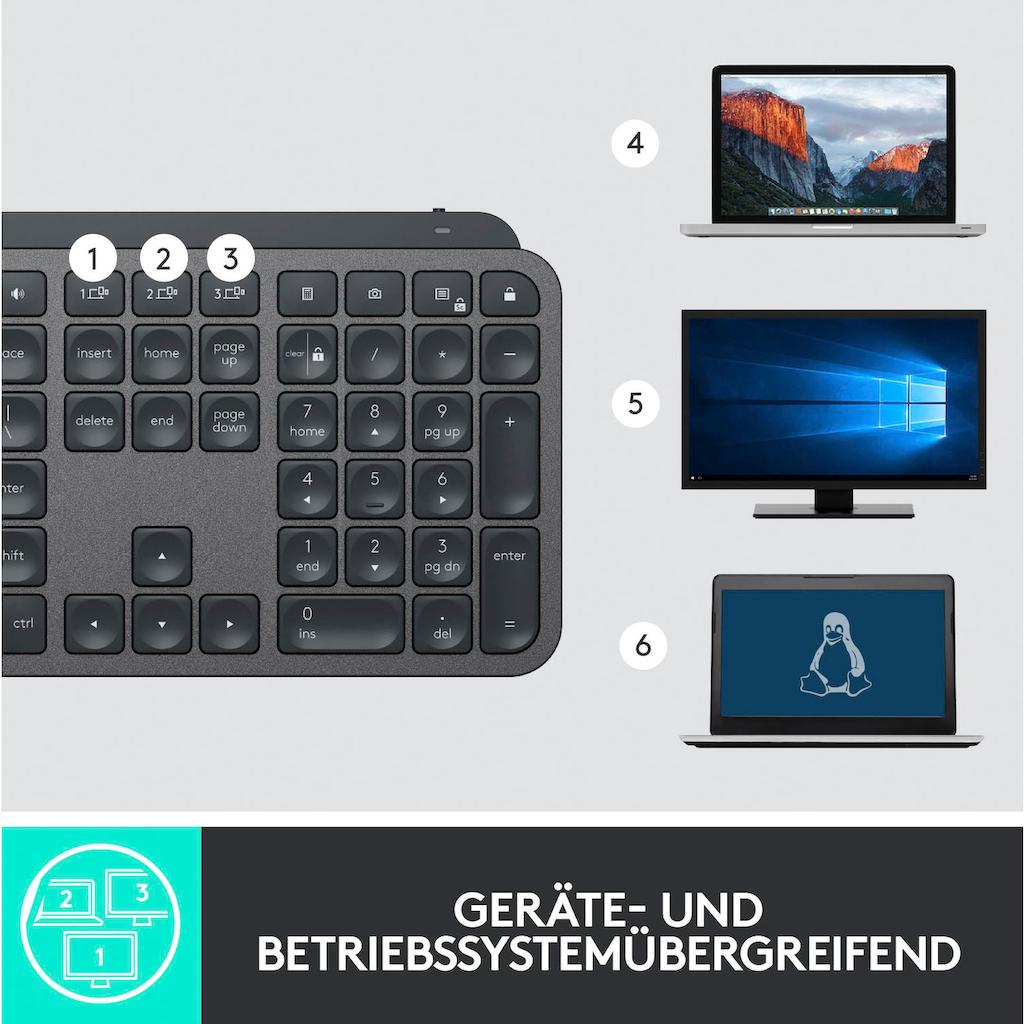 Logitech »MX Keys Advanced« Tastatur