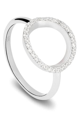 NANA KAY Silberring »Playful Circles, Kreis, ST1593«, mit Zirkonia kaufen