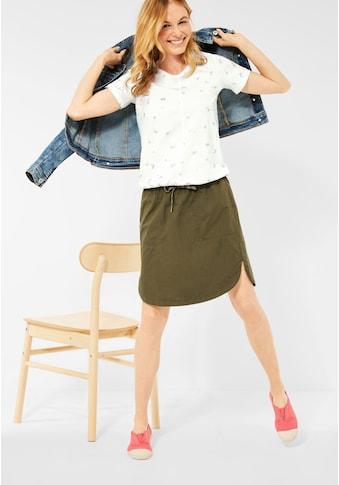 Cecil V-Shirt, mit schimmerndem Folienprint kaufen