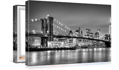 Conni Oberkircher´s Bild »Big City 5  -  By Night« kaufen
