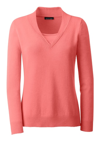 Classic Kaschmir - Pullover in 2 - in - 1 - Form kaufen