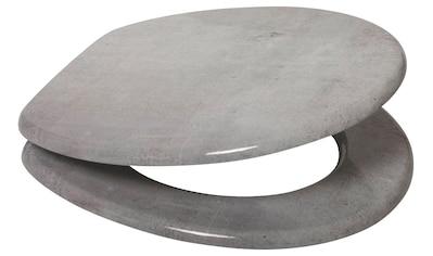 SANILO WC - Sitz »Beton«, mit Absenkautomatik kaufen