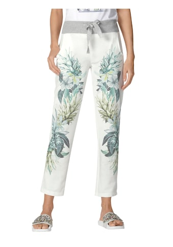 Amy Vermont Jogger Pants, mit floralem Muster im Vorderteil kaufen