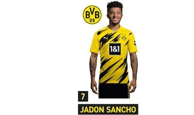 Wall-Art Wandtattoo »BVB Sancho Portrait 2020/2021« kaufen