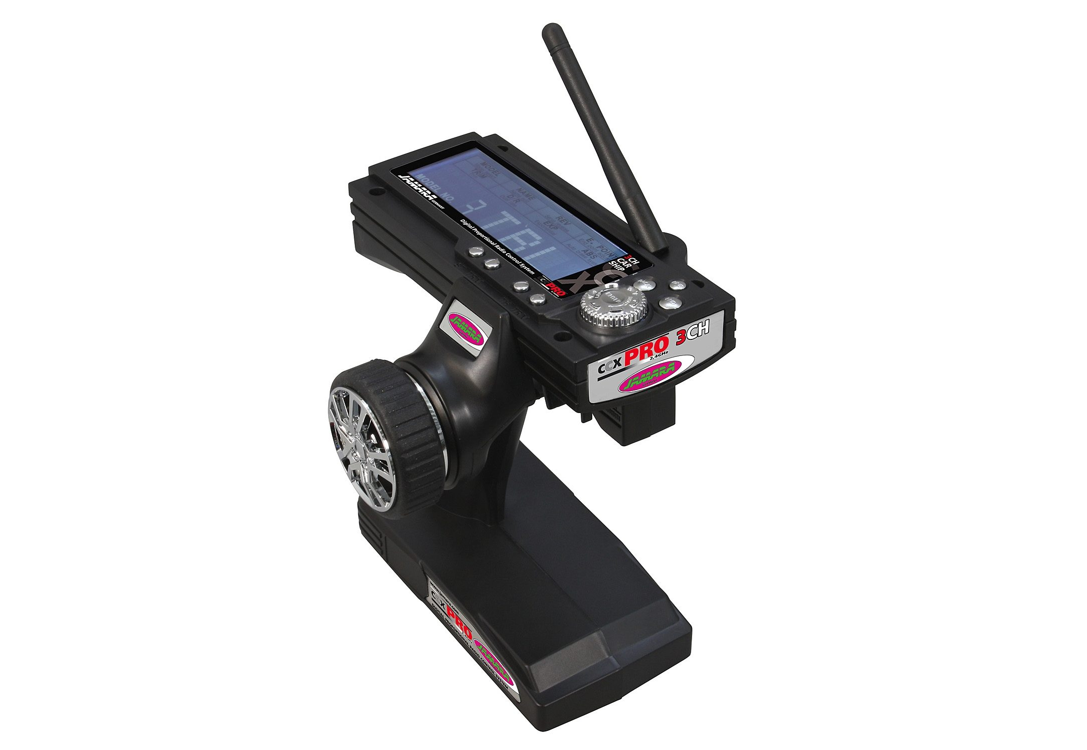 Jamara RC-Fernsteuerung CCX 2,4 Pro schwarz Kinder RC Zubehör Autos, Eisenbahn Modellbau