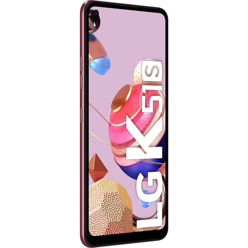 "LG Smartphone »K51s«, (16,6 cm/6,55 "" 64 GB Speicherplatz, 32 MP Kamera)"