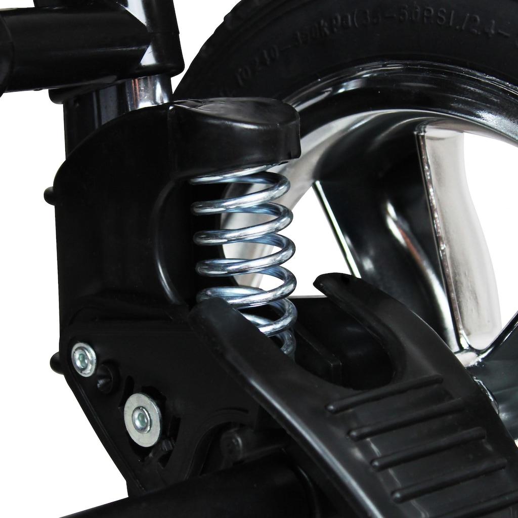 bergsteiger Kombi-Kinderwagen »Rio, black edition, 3in1«, mit Lufträdern; Made in Europe; Kinderwagen