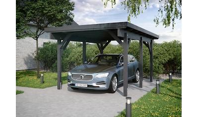 Kiehn-Holz Einzelcarport »KH 300 / KH 301«, Holz, 275 cm, anthrazit, Stahl-Dach,... kaufen