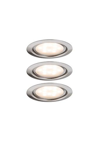 Paulmann,Unterschrankleuchte»Unterbauleuchte LED SetvMicro Line Eisen gebürstet, 3er Set«, kaufen