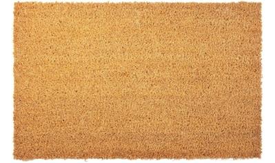 Primaflor-Ideen in Textil Fußmatte »KOKOS«, rechteckig, 17 mm Höhe, Fussabstreifer, Fussabtreter, Schmutzfangläufer, Schmutzfangmatte, Schmutzfangteppich, Schmutzmatte, Türmatte, Türvorleger, Kokosmatte, In- und Outdoor geeignet kaufen