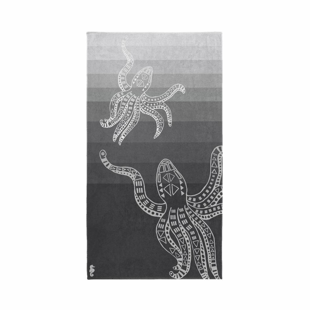 Seahorse Strandtuch »Octopus«, (1 St.), mit Octopus Motiv