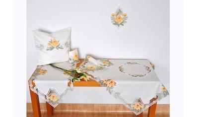 Tischdecke, »Lilienzeit«, Stickereien Plauen kaufen