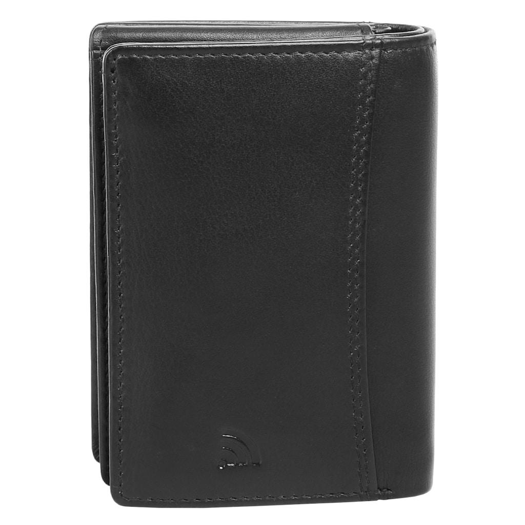 BODENSCHATZ Geldbörse »PRINESS«, 3fach klappbar