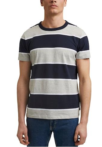 edc by Esprit T-Shirt, mit Blockstreifen kaufen
