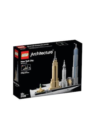 LEGO® Konstruktionsspielsteine »New York City (21028), LEGO® Architecture«, (598 St.) kaufen