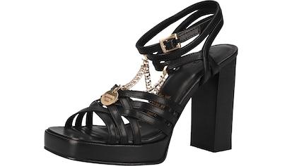Bronx High-Heel-Sandalette »Leder« kaufen