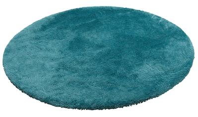 my home Hochflor-Teppich »Magong«, rund, 25 mm Höhe, Besonders weich durch Microfaser,... kaufen