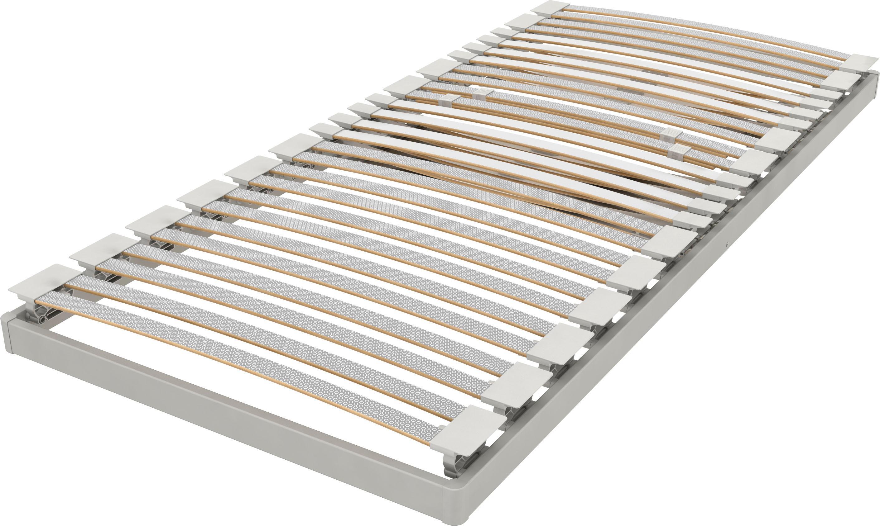 Lattenrost Platin 28 Plus NV Schlaraffia Kopfteil nicht verstellbar | Schlafzimmer > Lattenroste > Unverstellbare Lattenroste | Grau | Schlaraffia