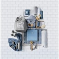 TOM TAILOR Kosmetikeimer »CLASSIC STEEL«