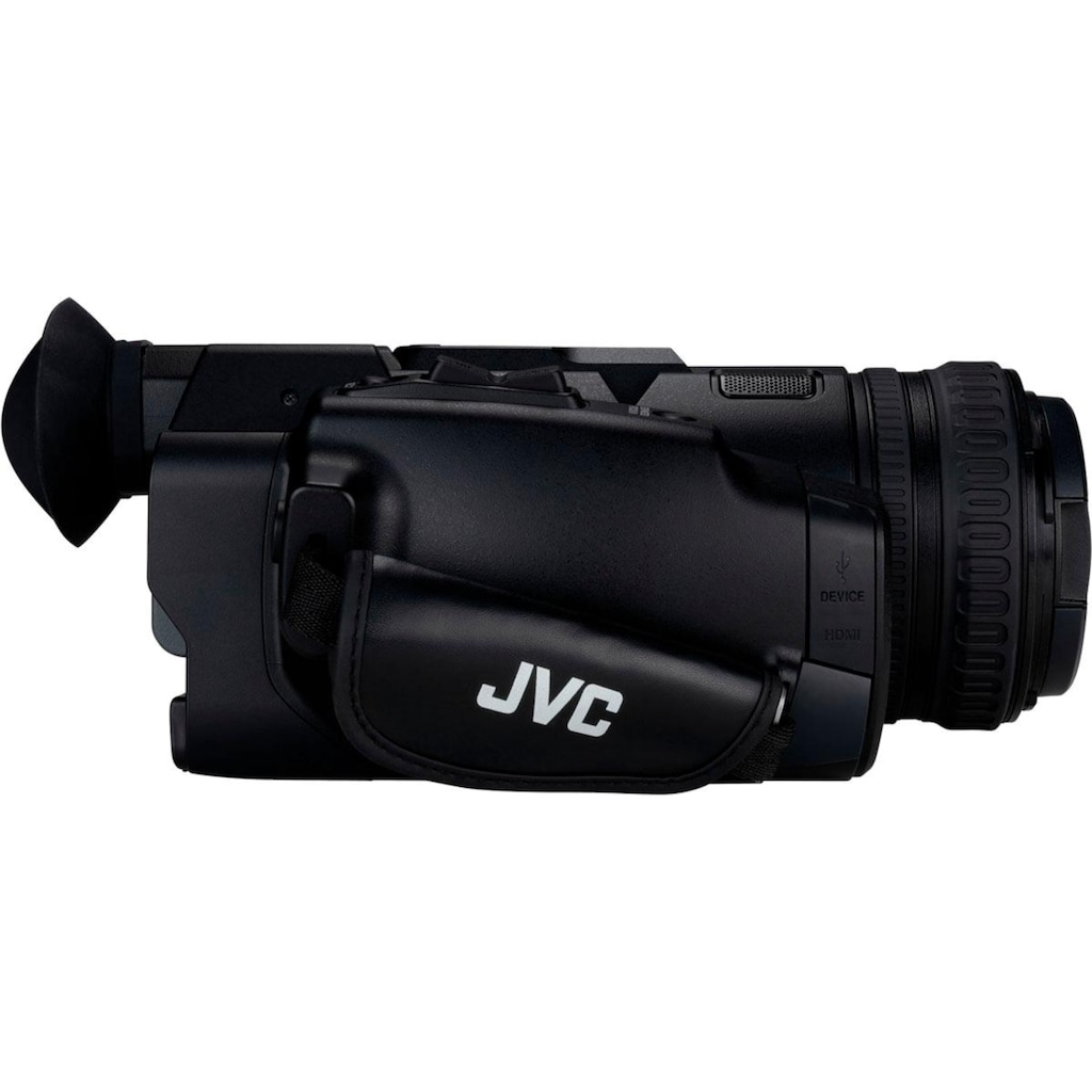 JVC Camcorder »GY-HM180E«, 4K Ultra HD, 12x opt. Zoom