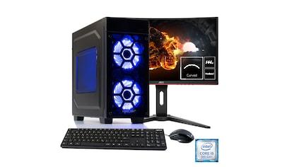 Hyrican Gaming PC i5 - 9400F, RTX 2060, 16GB RAM + 69 cm (27'') TFT »Striker SET1905« kaufen