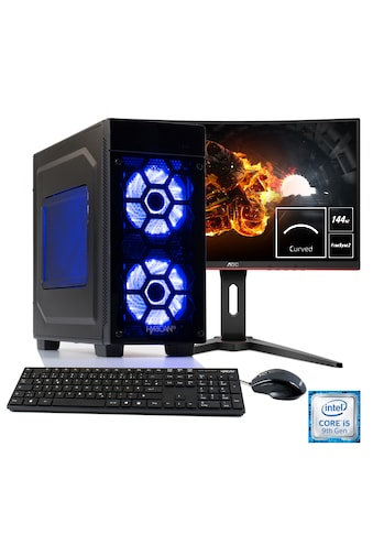 Hyrican Gaming PC i5 - 9400F, RTX 2060, 16GB RAM + 69 cm (27'') TFT »Striker SET1905« kaufen