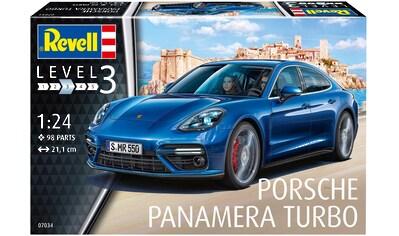 Revell® Modellbausatz »Model Set Porsche Panamera Turbo«, (Set), 1:24, Made in Europe kaufen