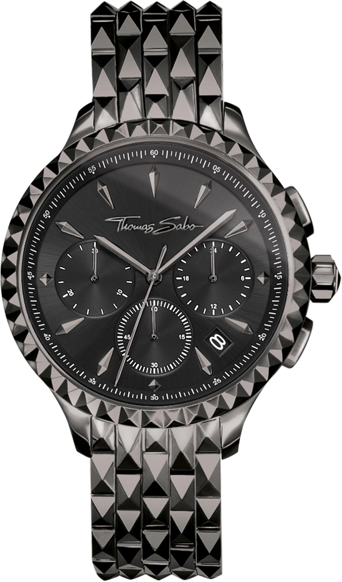 THOMAS SABO Chronograph REBEL AT HEART WA0348-202-203-38 mm | Uhren > Chronographen | Thomas Sabo