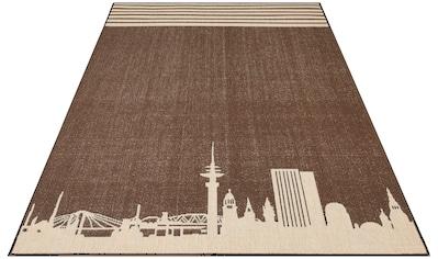 Teppich, »Hamburg«, my home, rechteckig, Höhe 2 mm, maschinell gewebt kaufen