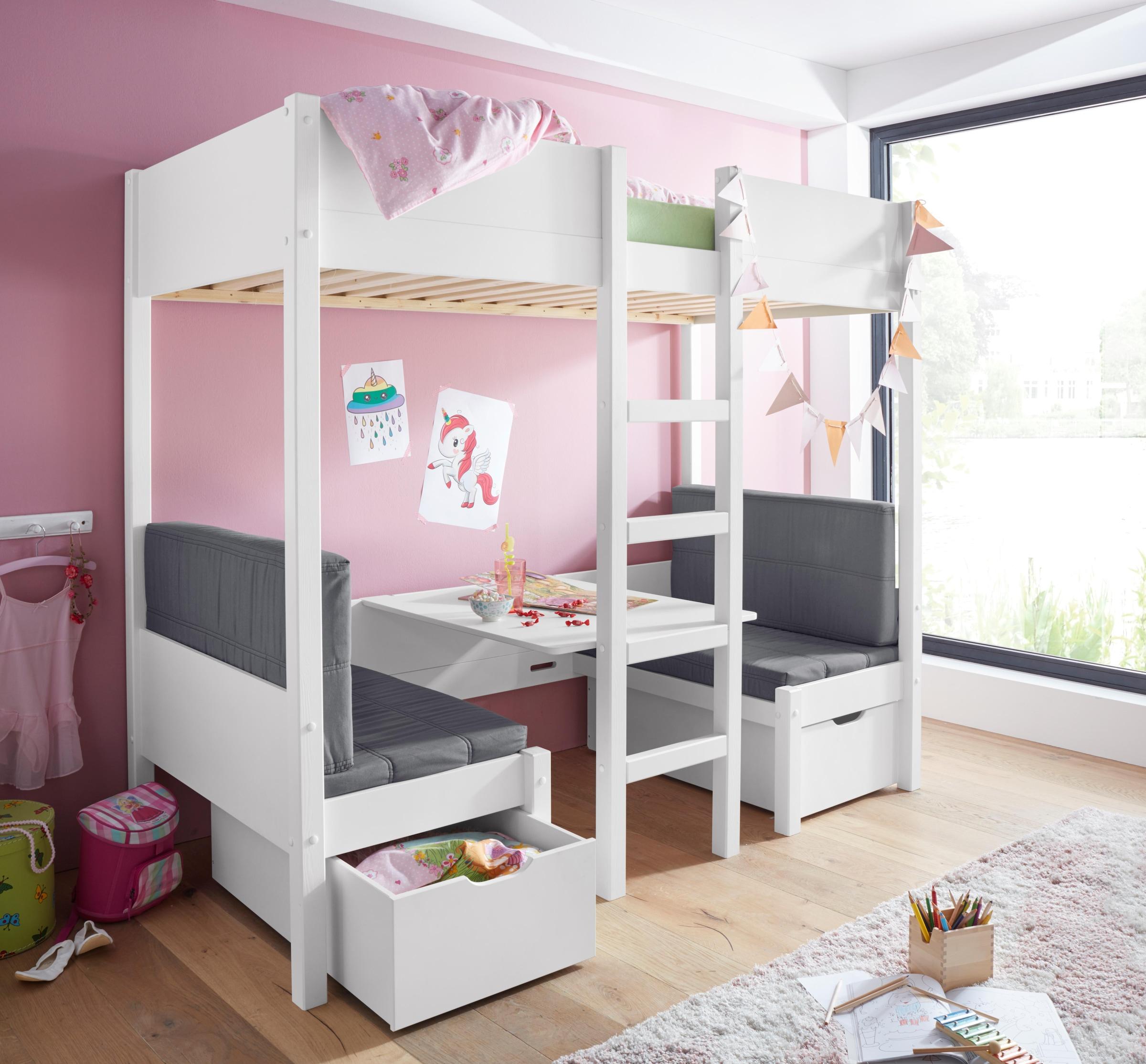 Etagenbett Mit Integriertem Schrank : Baur hochbett hochbetten mit rutsche und andere hoch