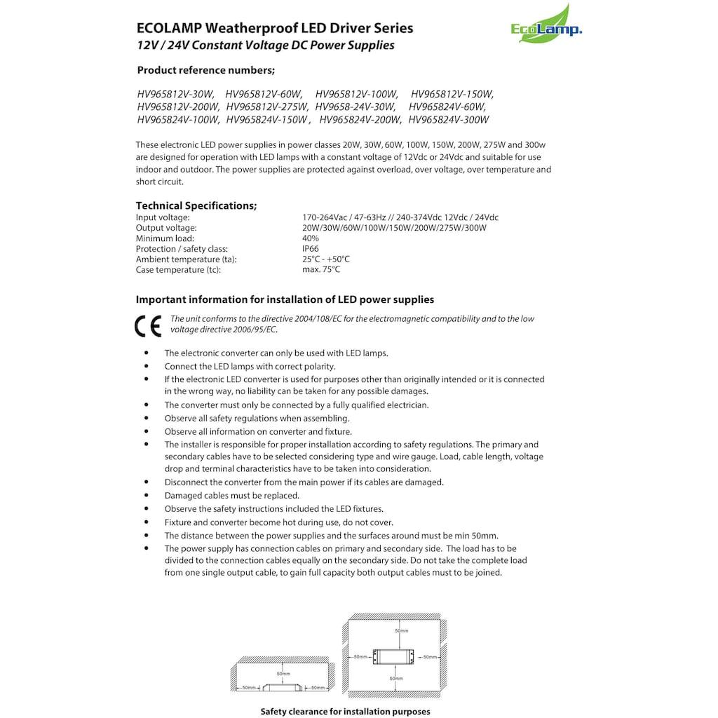 Havit Lighting Netzteil »LED Power Supply«, IP67