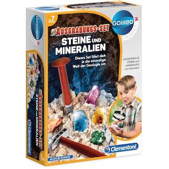 """Clementoni® Experimentierkasten """"Galileo, Ausgrabungs - Set  -  Steine und Mineralien"""" kaufen"""