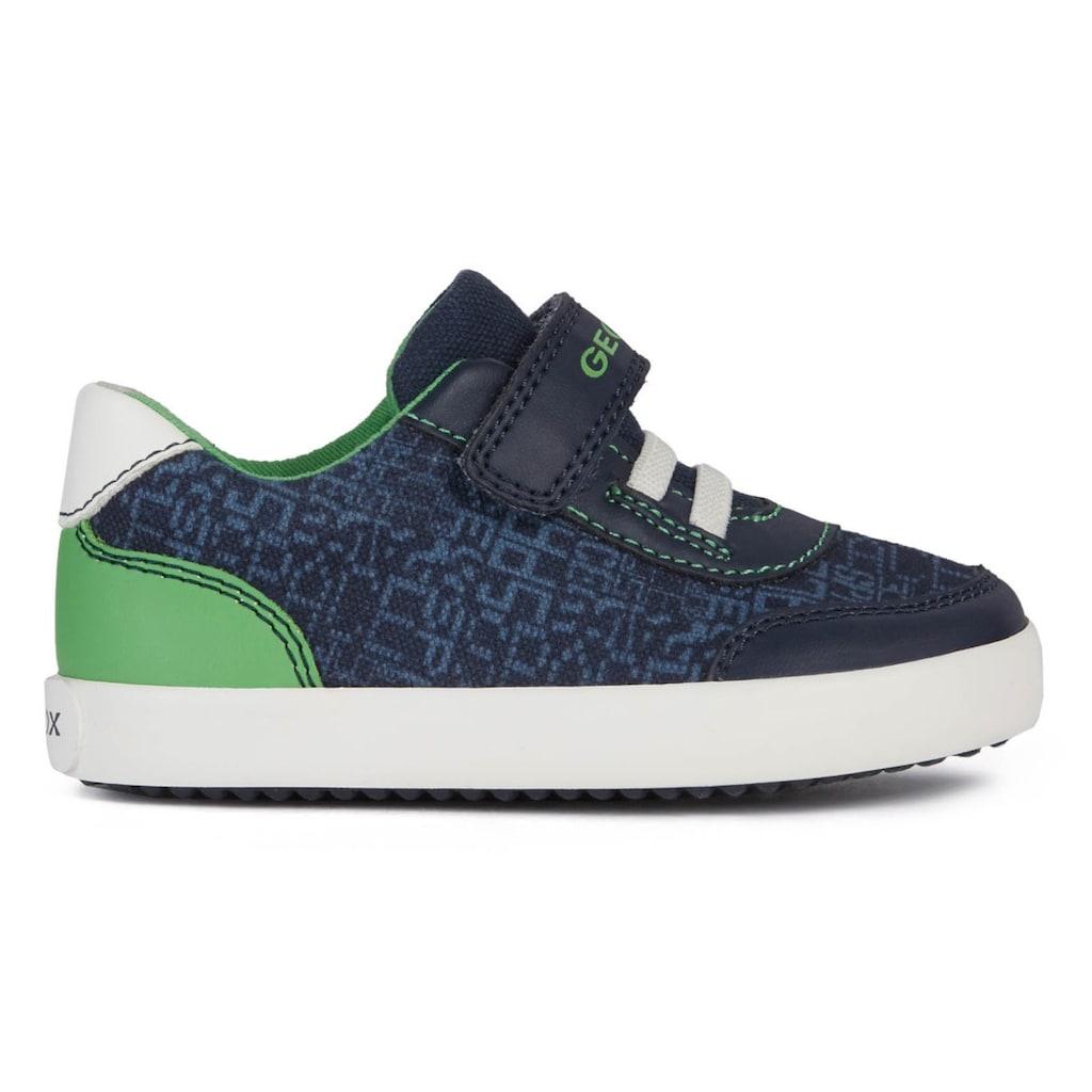 Geox Kids Sneaker »GISLI BOY«, mit herausnehmbarer Innensohle