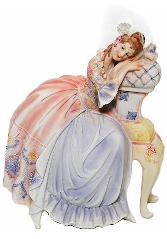 Casa Collection by Jänig Dekofigur »Dame im Barockkleid auf Chaislounge sitzend Höhe... kaufen