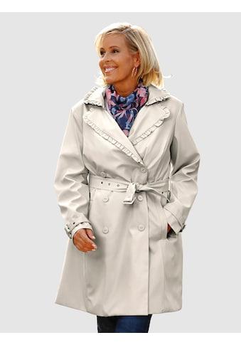 m. collection Trenchcoat mit feinen Details kaufen