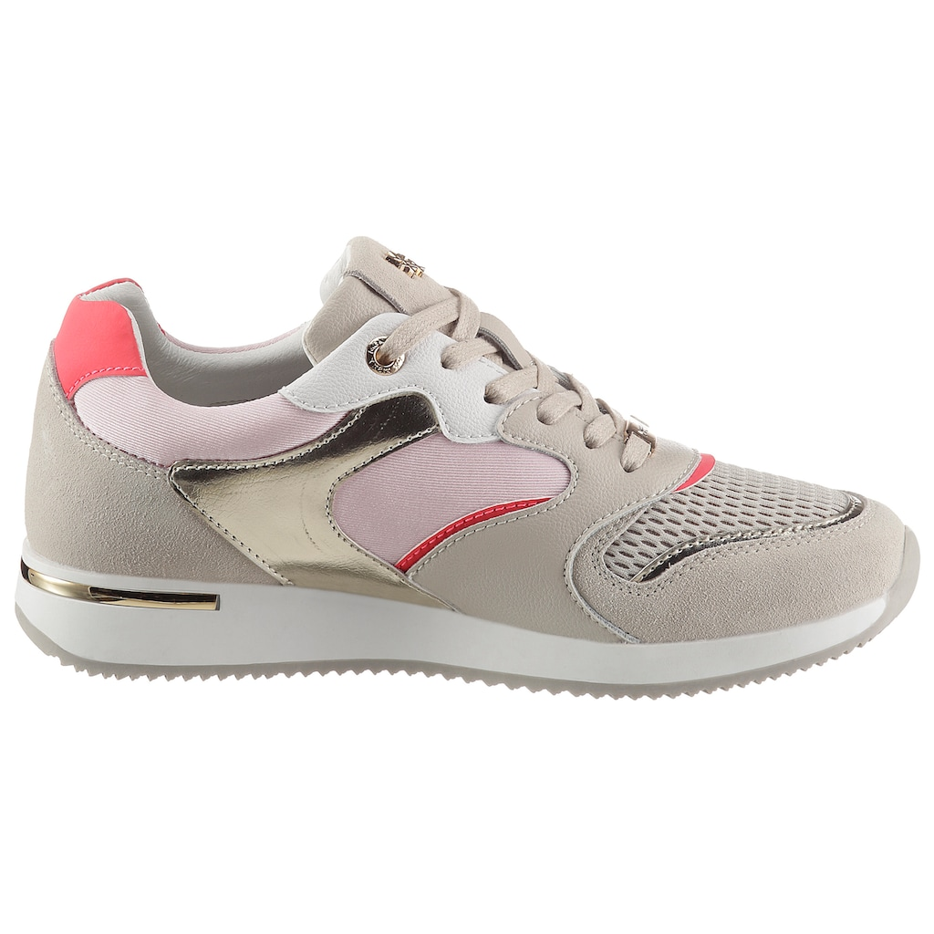 Mexx Sneaker »GEMMA«, mit schönen Metallic-Details