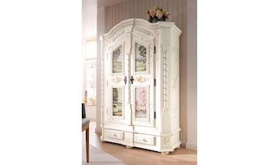 Premium collection by Home affaire Kleiderschrank »Sophia«, in zwei unterschiedlichen einzigartigen Ausführungen der Schrankfronten, Höhe 187 cm kaufen