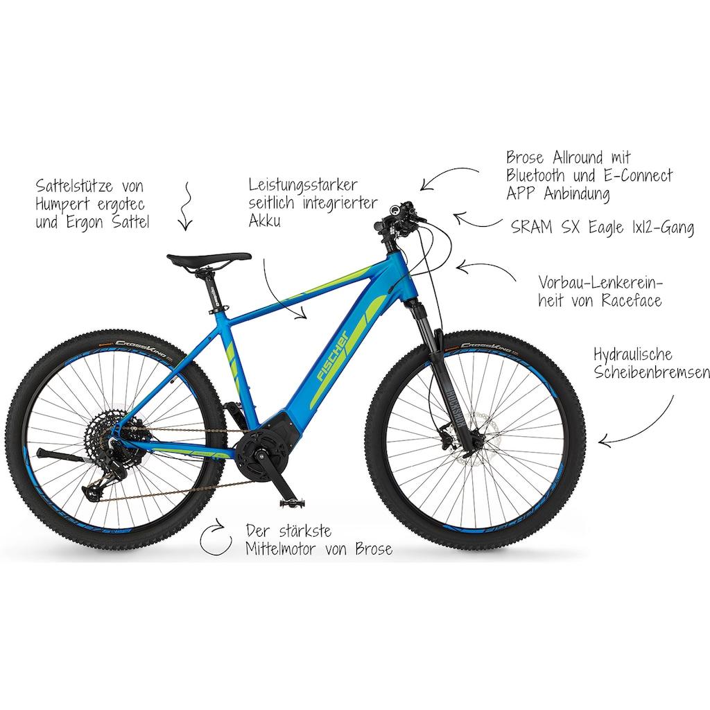 FISCHER Fahrräder E-Bike »MONTIS 6.0i LE«, 12 Gang, SRAM, Eagle SX, Mittelmotor 250 W