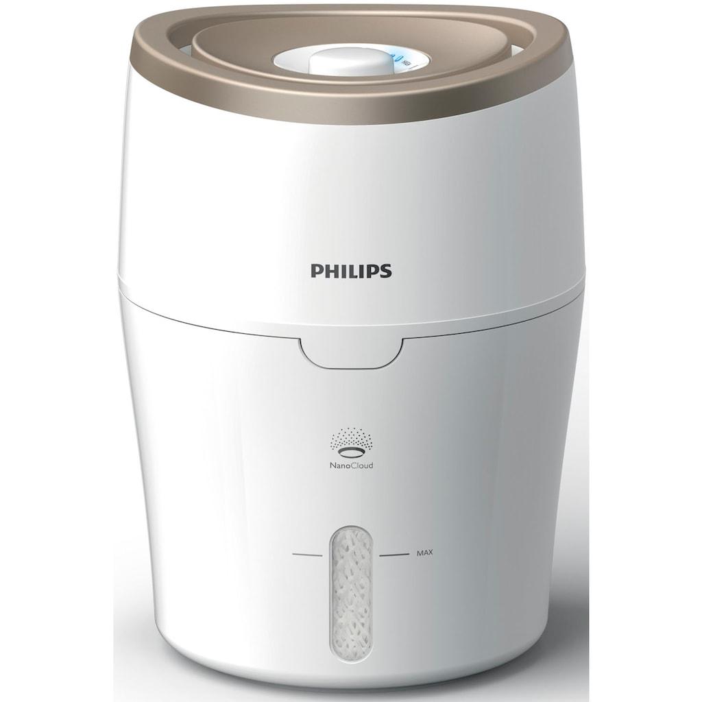 Philips Luftbefeuchter »HU4811/10 2000 Series«, mit NanoCloud-Technologie, für Babys und Kinder