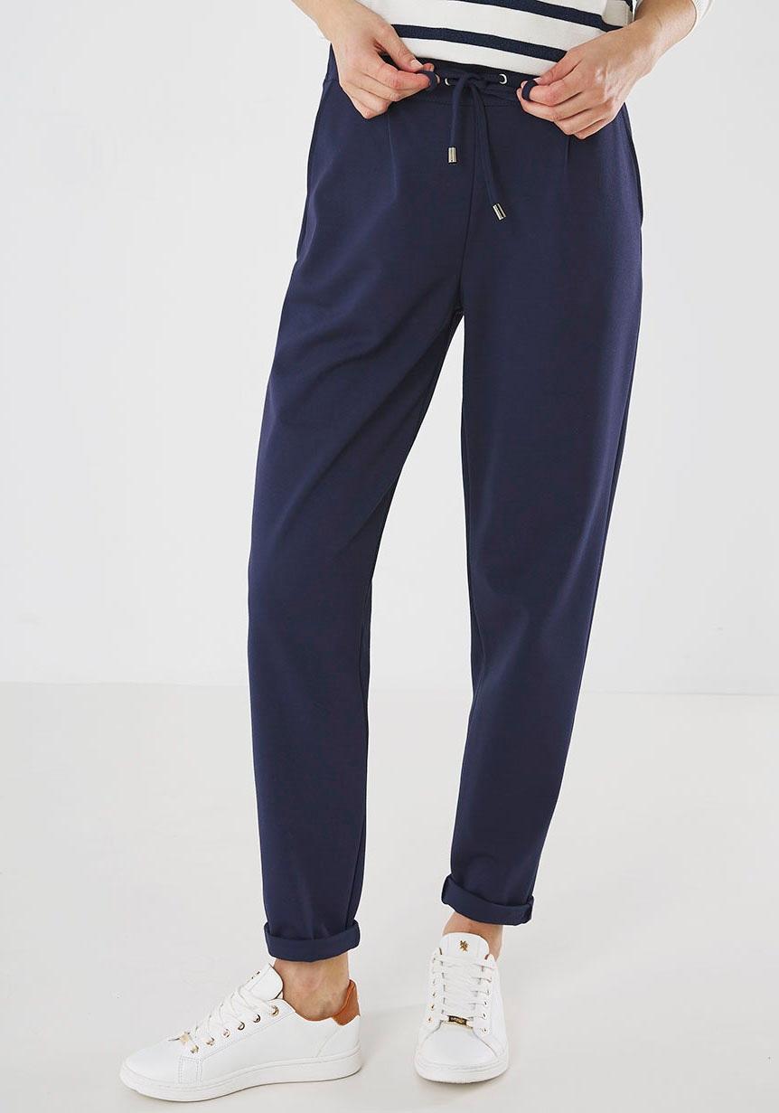 mexx -  Jogger Pants, mit Bundfalten und Kordelzug am Saum