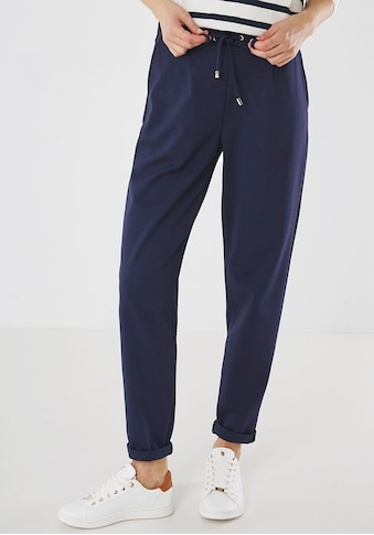 Mexx Jogger Pants, mit Bundfalten und Kordelzug am Saum kaufen