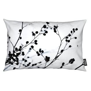Dekokissen, »Winter Silhouettes 1«, Juniqe In Schwarz Weiß Im Online Shop