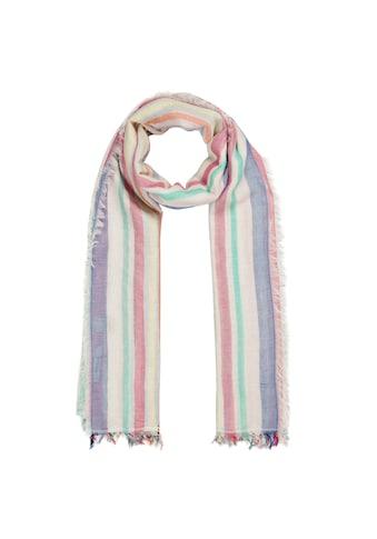 Codello XL - Streifenschal aus leichter Sommerbaumwolle kaufen