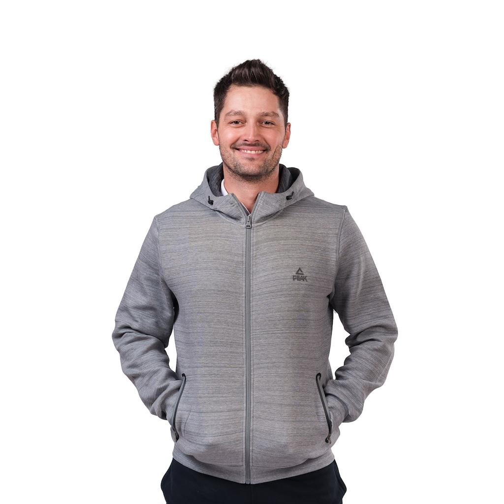PEAK Sweatjacke »Scuba«, in sportlichem Design