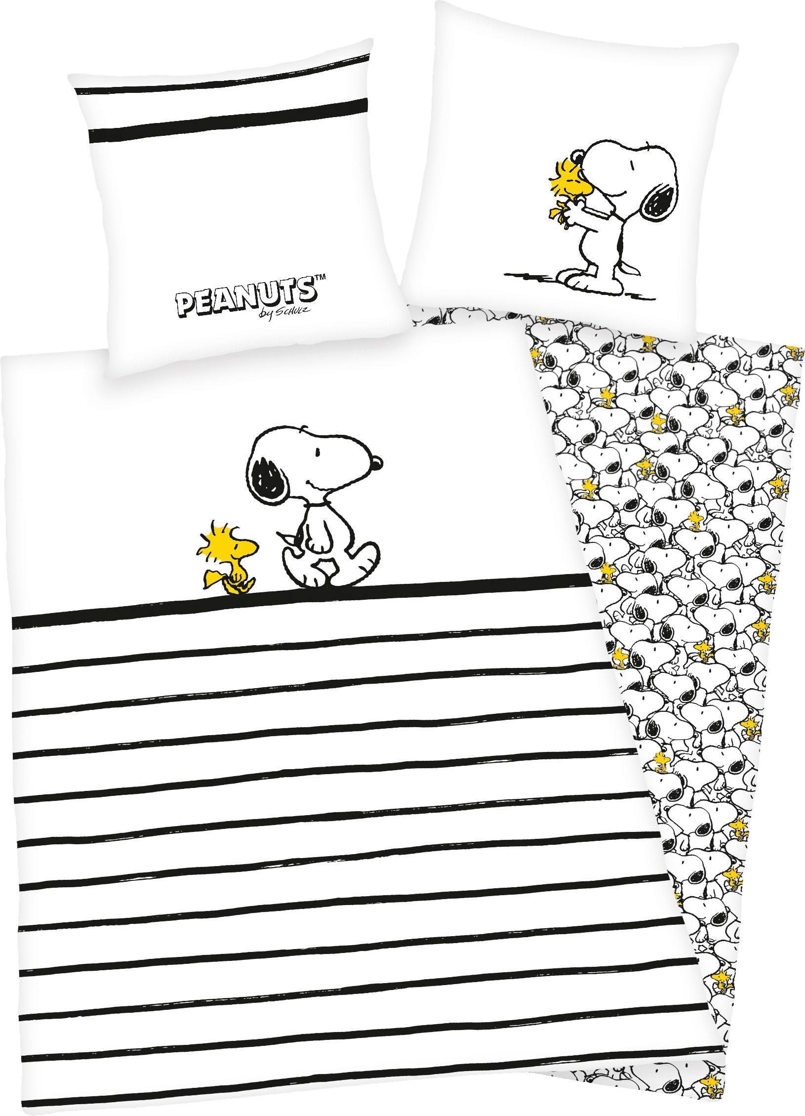 Kinderbettwäsche Peanuts Snoopy PEANUTS