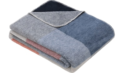 s.Oliver Wohndecke »Jacquard Decke s.Oliver«, Karomuster kaufen