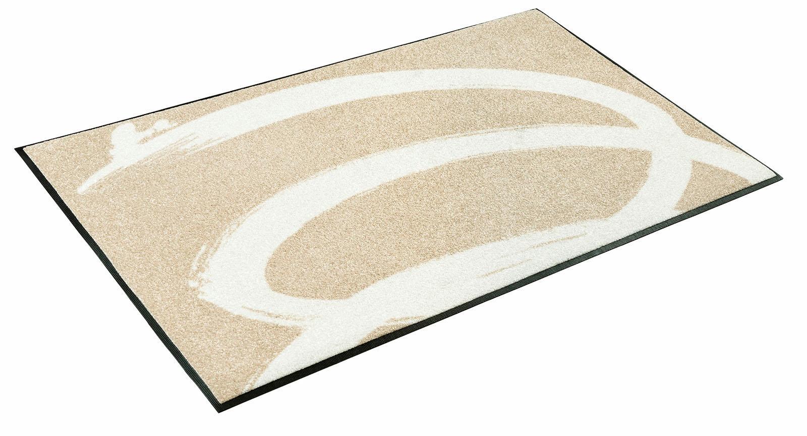 Läufer Basic Twist wash+dry by Kleen-Tex rechteckig Höhe 7 mm gedruckt