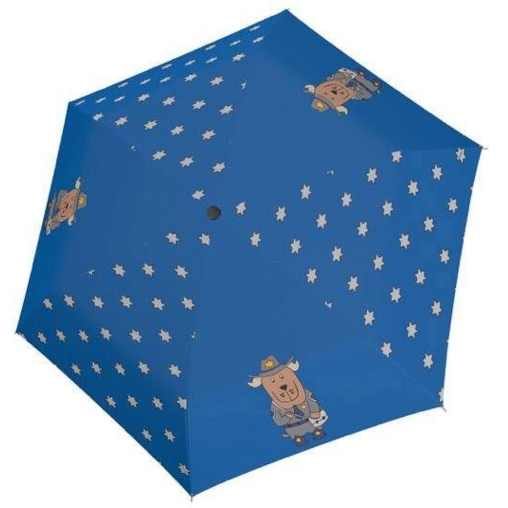 doppler® Taschenregenschirm »Kids Cool Sheriff«