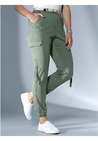 MIAMODA Cargohose mit elastischem Hosensaum kaufen