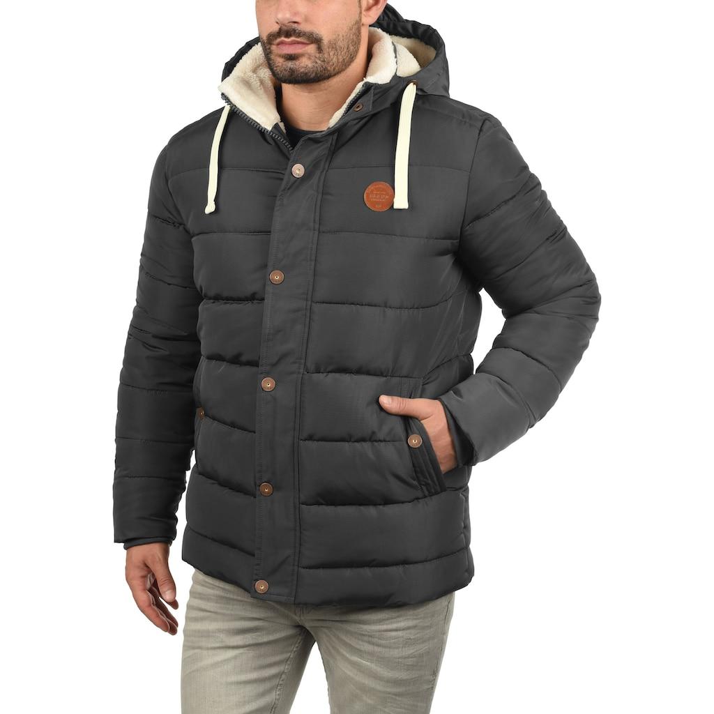 Blend Steppjacke »Frederic«, warme Jacke mit abnehmbarer Kapuze